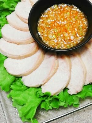 しっとり*よだれ鶏 レシピ・作り方