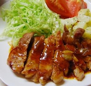 やっぱり美味しいトンテキ ニンニクソース! レシピ・作り方