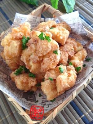ひと手間で鶏カラそっくり!厚揚げの唐揚げ レシピ・作り方