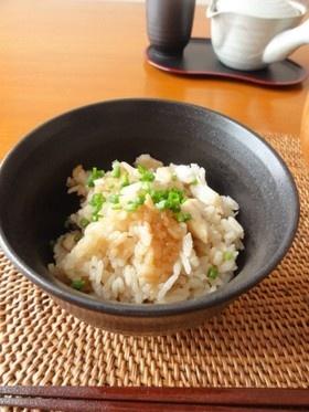炊飯器で炊く。一番簡単・手軽な鯛飯!
