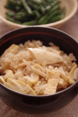 水煮でもOK!たけのこご飯♪ レシピ・作り方