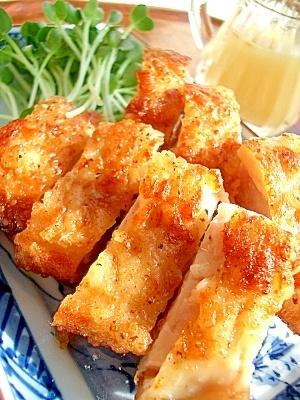 ガッツリにんにく!鶏肉のにんにく塩から揚げ レシピ・作り方