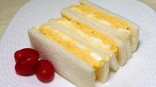 究極のたまごサンド/スクランブルエッグとゆで卵 レシピ・作り方